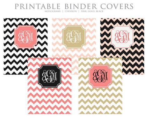 printable customized binder covers instant download printable binder covers from