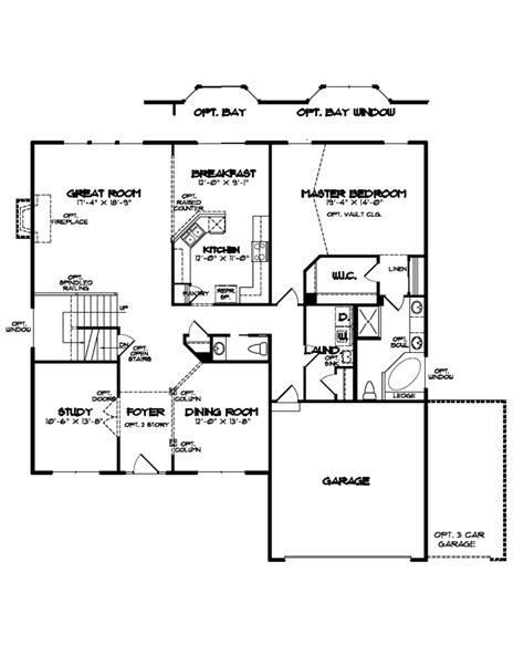single family floor plans floorplan