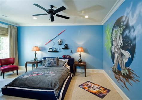 room light blue color scheme wall paint ideas bedroom interior design for with chic bed and