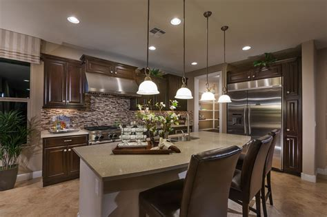 modern kitchen interior design model home interiors homes celebration model home vail arizona traditional