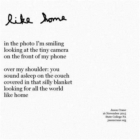 poem like home jason crane dot org
