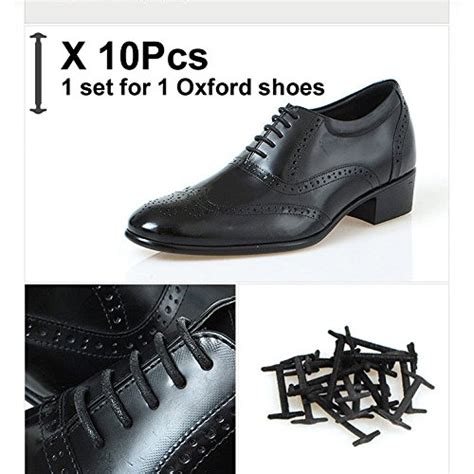 silkies no tie shoelaces for dress shoes silicone elastic shoe strings oxford shoe laces 1 set