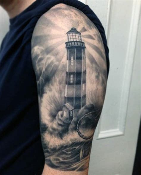 nautical half sleeve tattoos 100 nautical tattoos for slick seafaring design ideas