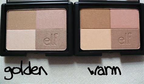 E L F Studio Bronzers studio bronzers in golden and warm gorgeous make up