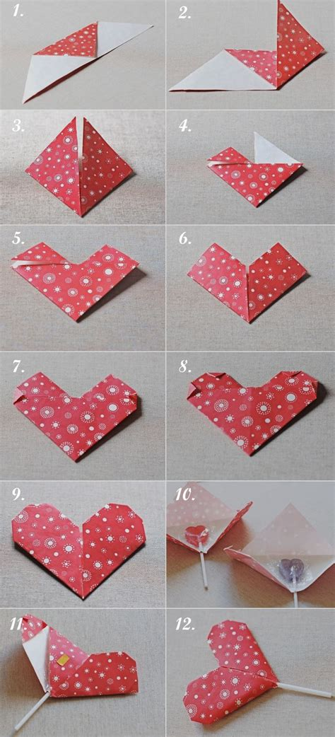 San Origami - c 243 mo hacer un coraz 243 n de origami para san valent 237 n