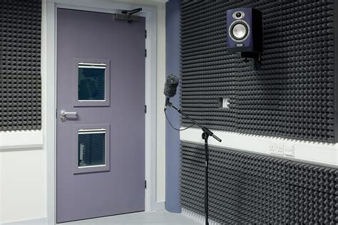 soundproof doors for recording studio sound proof doors for community centre recording studio
