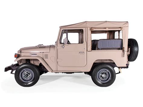 Toyota Suv 1980 1980 Toyota Land Cruiser Canvas Top Fj40 4x4 Suv