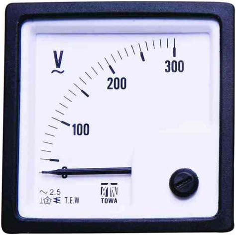 Voltmeter Analog construction