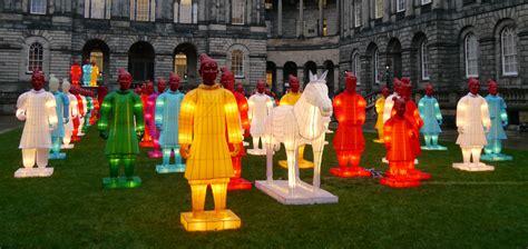new year warrior lanterns edinburgh exhibition terracotta warrior