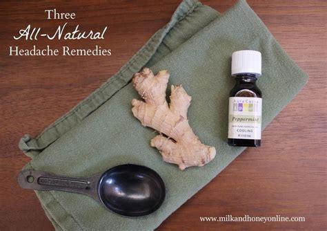 Cure Detox Headache by Three All Headache Remedies Home Remedies