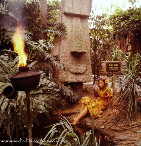 tiki gardens indian rocks florida 17 best images about exotica hawaiiana polynesian pop
