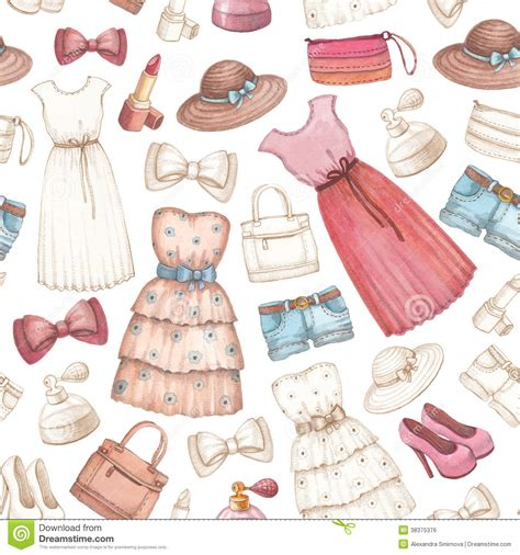 imagenes de zapatos a lapiz dresses and accessories pencil drawings stock illustration
