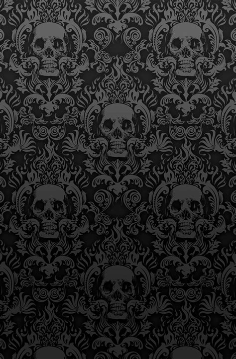 skull pattern iphone wallpaper addicted to black volume 1 25 images church of halloween