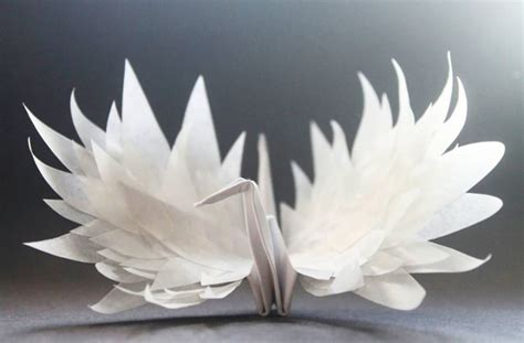 Origami Crane Designs - beautiful paper folding cranes by origami enthusiast