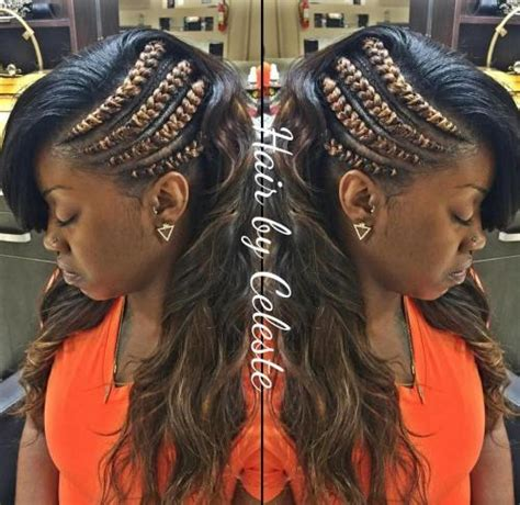 black hairstyles going to one side 20 gorgeous ghana braids for an intricate hairdo in 2018