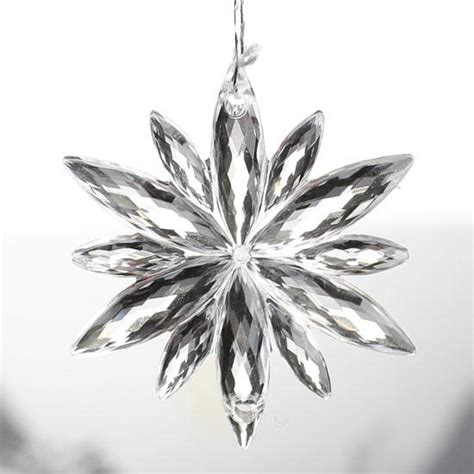 youtubecom were to buy plastic ornaments small clear acrylic snowflake ornaments ornaments and winter