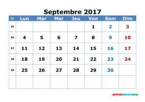 Calendrier Septembre 2017 à Imprimer Gratuit Calendrier Septembre 2017 A Imprimer Gratuity