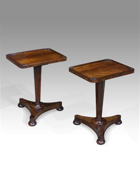 Low Table L Pair Of Low Antique Tables Low Side Tables Tripod