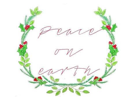 Printable Christmas Wreath Pictures | free christmas wreath printable just paint it blog