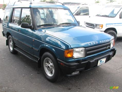 blue land rover discovery 1998 charleston green metallic land rover discovery le