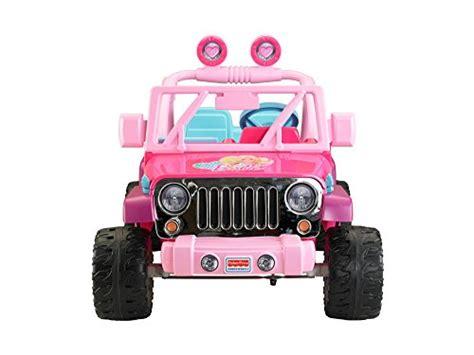 barbie jeep power power wheels barbie jammin jeep wrangler new ebay