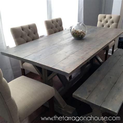 farmhouse table chairs ideas  pinterest