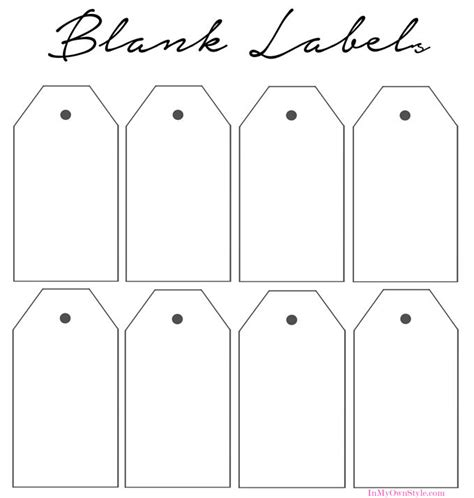 How To Organize In Style Using Dollar Store Baskets In My Own Style Free Label Printing Template