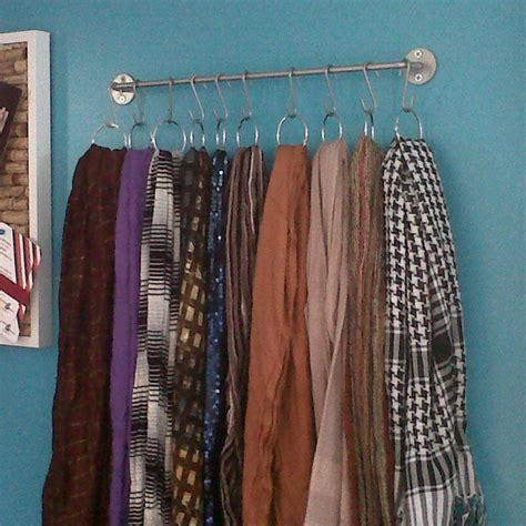 how to hang curtain scarf best 25 hang scarves ideas on pinterest hanging scarves