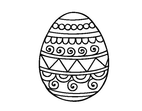 decorated easter eggs decorated easter egg coloring page coloringcrew