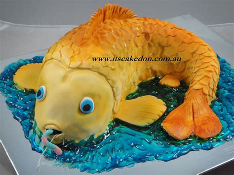 Fish Cake it s caked on fish cake