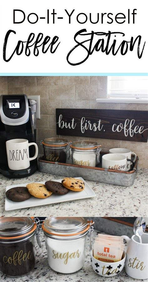 how to set up your kitchen best 25 coffee stations ideas on pinterest coffe bar