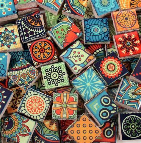 azulejos brillantes azulejos de mosaico de cer 225 mica colores brillantes