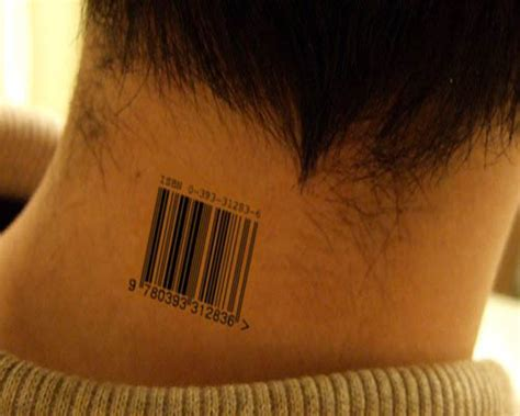 barcode tattoo pictures 15 best barcode tattoo designs with meanings styles at life
