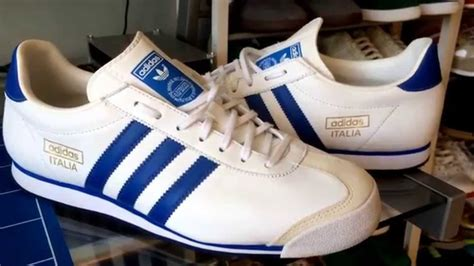 Adidas Italy 1 up adidas italia 74 white blue