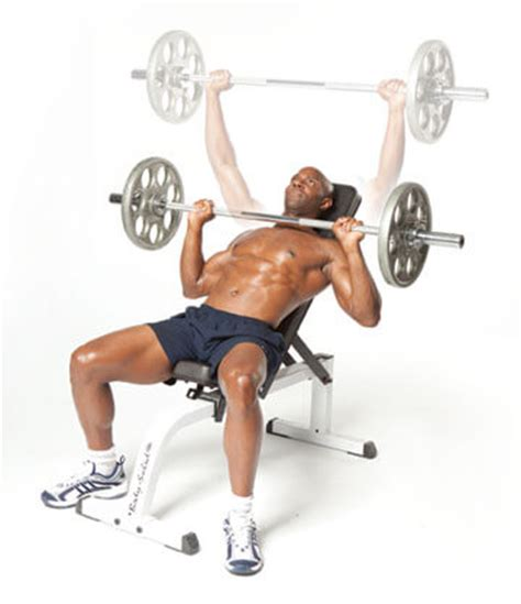 how much does the average male bench press incline bench press for chest workout