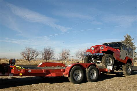 jeep hauling trailer moses ludel s 4wd mechanix magazine outfitting and