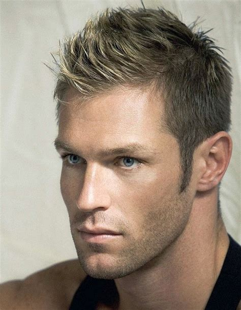 hairstyles for dirty blonde guys marco dapper this dirty blonde fohawk makes him closer
