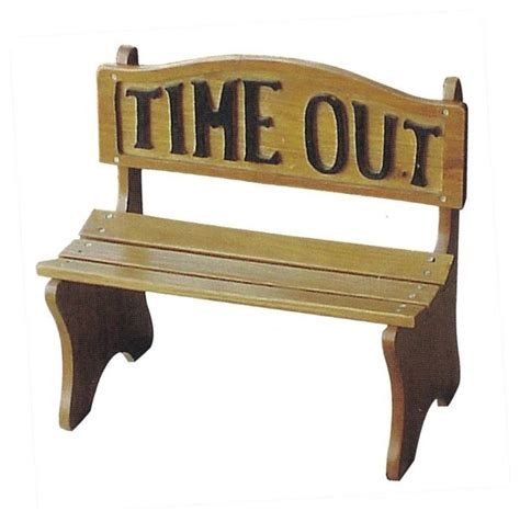 time out bench dc america time out kids39 park bench contemporary kids