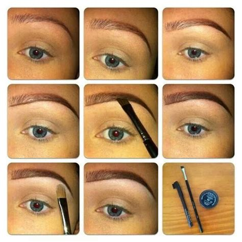 how to your step by step step by step how to do your eyebrows fierce makeup looks