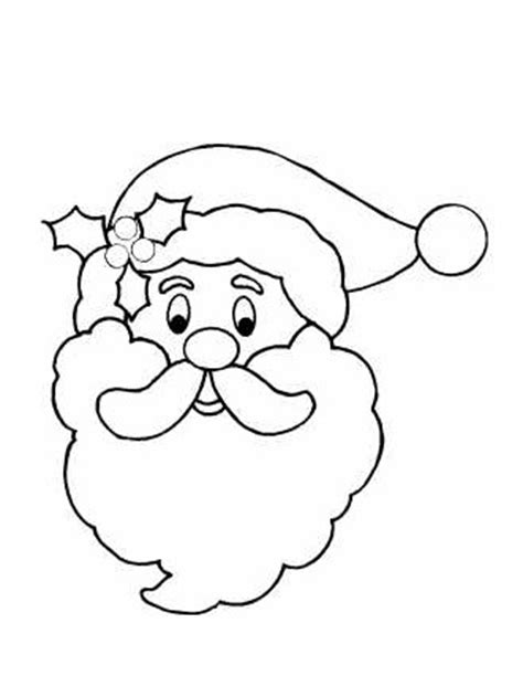 santa claus template santa claus outline cliparts co