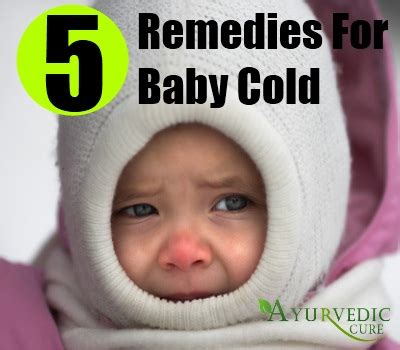 baby cold home remedies treatments cure usa