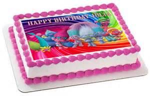 trolls edible cake topper amp cupcake toppers edible prints on cake epoc