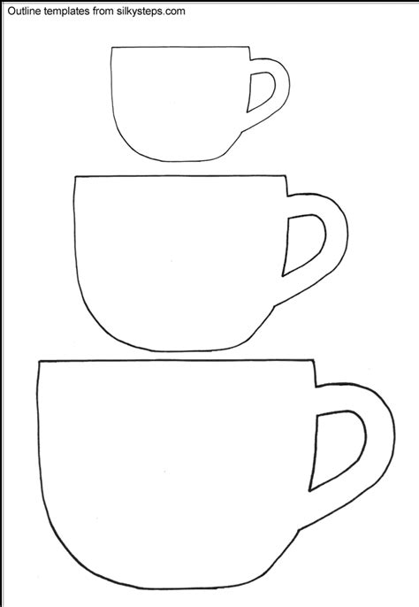 Free Printable Tea Cup Template Bing Printable Coffee Mug Template Savannahs Bridal Shower Free Printable Coffee Mug Template