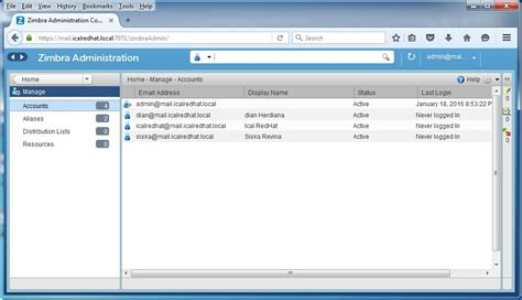 membuat group email di zimbra install zimbra mail server di ubuntu 14 04 gerakan open