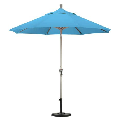 Tilting Patio Umbrella California Umbrella 9 Ft Aluminum Auto Tilt Patio