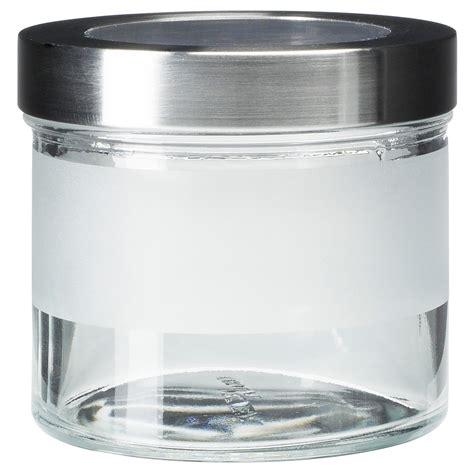 Plastic Jar Storage Caps Per Box Isi 8 Pcs Regular jars tins glass storage jars ikea
