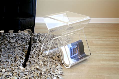 Wholesale Interiors Uk by Wholesale Interiors Acrylic Clear End Table With Magazine