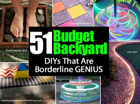 Backyard Ideas That Are Borderline Genius 51 Borderline Genius Backyard Diys House Interior Designs