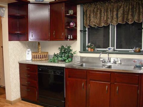 Diy Gel Stain Kitchen Cabinets by Restaining Cabinets Darker Without Stripping