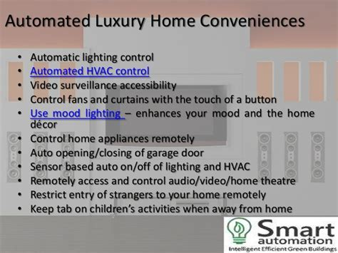 smart home automation few benefits